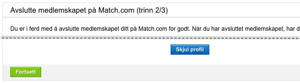 Slett Match - Steg 5