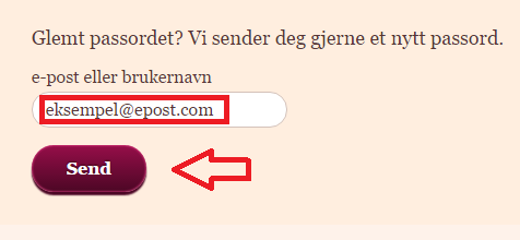 treffeldredamer_glemt_passord